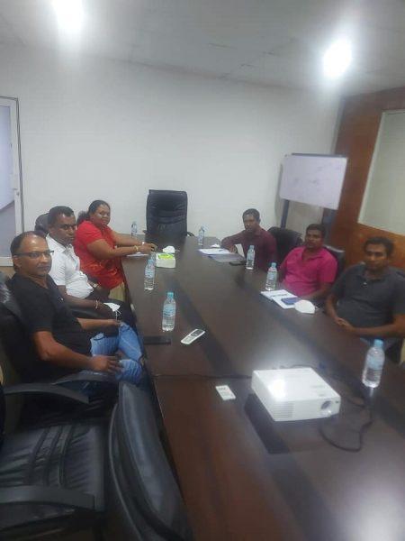 Gampaha branch inaugural committee meeting