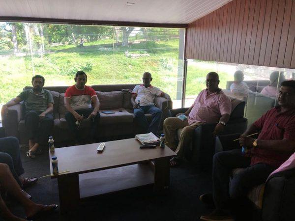 Galle branch inaugural committee meeting